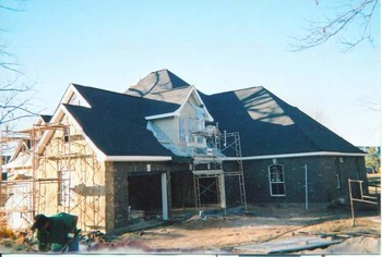 New Construction Roof Installation in Lake Conroe, TX